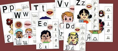 Abecedario, silabas....Fichas para aprender - Escuela en la nube   Las TIC y la Educación   Scoop.it
