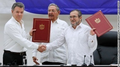 FARC-Colombia peace deal finalized | AP HUMAN GEOGRAPHY DIGITAL  STUDY: MIKE BUSARELLO | Scoop.it