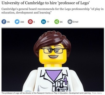 Schools need more Legos & fewer textbooks... | Student Motivation and Engagement | Scoop.it