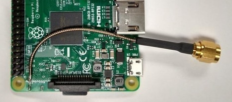 Hacking The Raspberry Pi WiFi Antenna For More dB | Home Automation | Scoop.it