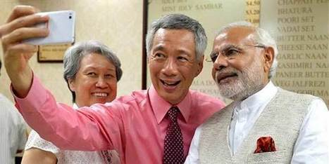 India, Singapore lift ties to strategic partnership; ink 10 pacts | Latest News from India and the World on post.jagran.com | Scoop.it
