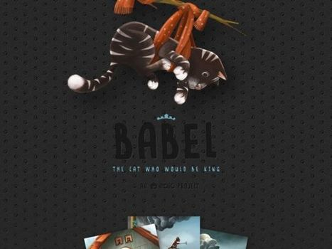 Babel, the cat who would be king | Tessa Winship.com Children's Picture Books | Scoop.it