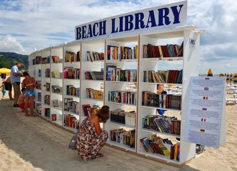 Les bibliothèques de plage | Insolite bibliothèque | Scoop.it