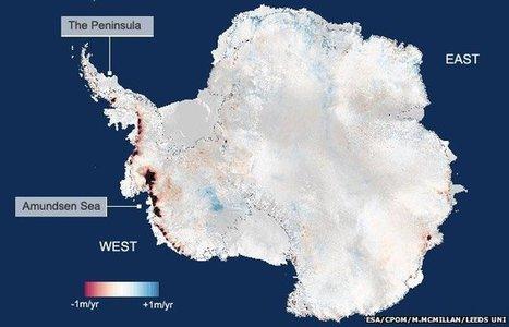 Antarctica's ice losses double | Oven Fresh | Scoop.it