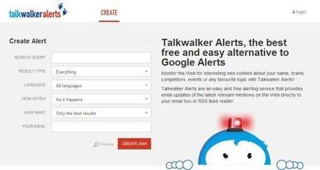 Talkwalker Alerts, una alternativa a Google Alerts | El Content Curator Semanal | Scoop.it