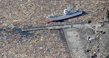 Le tsunami au Japon a donné naissance à une mer de déchets   Ecologie.blog.lemonde.fr   Japon : séisme, tsunami & conséquences   Scoop.it