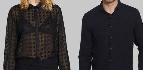 La chemise du vendredi s'entend très bien avec le Black friday - Les hauts de la Mode   leshautsdelamode   Scoop.it