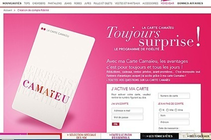 Camaïeu : Stratégie Multicanal & Web-to-Store | Cross canal | E-Marketing | Scoop.it