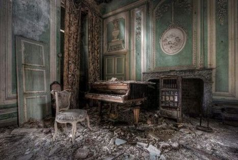 30 Abandoned Place Photo Series | Public Relations & Social Media Insight | Scoop.it
