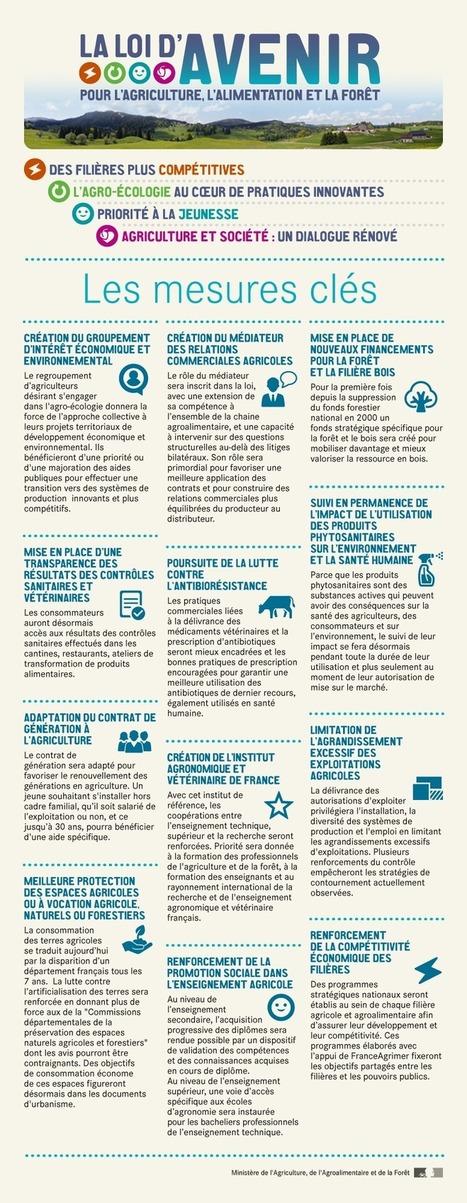 Projet de loi d'avenir pour l'agriculture, l'alimentation et la forêt - Ministère de l'agriculture | Sécurité sanitaire des aliments | Scoop.it