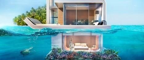 La maison à moitié sous l'eau, nouveau projet extravagant à Dubaï | Dans l'actu | Doc' ESTP | Scoop.it