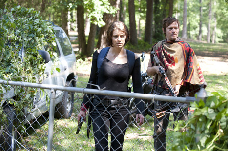 The Walking Dead Season 4: Is Maggie Pregnant? | ApocalypticFiction | Scoop.it