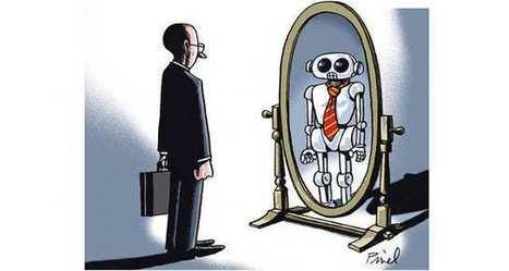 Quand les robots remplacent les salariés de la finance | BTS Banque | Scoop.it
