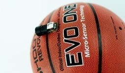 A Look At the EVO One's Micro-Sensor Basketball: The Next Generation of Hoop Training | Connected Athlete | Scoop.it