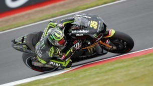 Injured Crutchlow claims stunning Silverstone top six | MotoGP World | Scoop.it