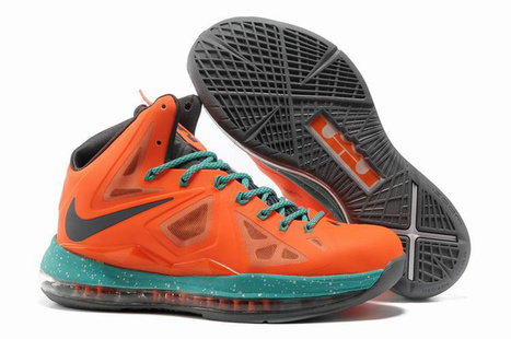 Lebron James 10 iD Samples Orange Green Grey Shoes - Cheap Lebron 10 Sale | 2012 Fashion Moncler Womens Jackets | Scoop.it