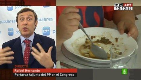 """Rafael Hernando: """"La responsabilidad de los casos de desnutrición es de los padres""""   El PSOE pide explicaciones a Ana Mato por el aumento en las listas de espera   Scoop.it"""