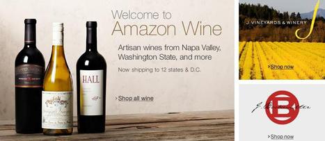 Amazon propose (enfin) du vin aux Américains - TF1 | Autour du vin | Scoop.it