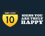 10 Signs That You Are Truly Happy [Infographic] | inspirationfeed.com | Social Media scoops by Rick Maresch | Scoop.it