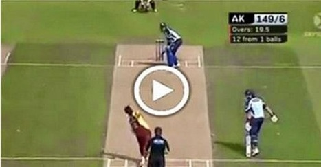 Watch this 12 runs in 1 ball 'Most Amazing Finish Ever' | Android Apps and Games Download | Scoop.it