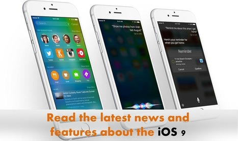Read the latest news about iOS 9 which is releasing on Wednesday - Arthisoft | iphone application development | Scoop.it