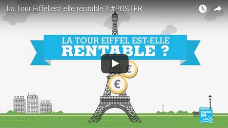 La Tour Eiffel est-elle rentable ? (A2-B1) | Le blog des profs de l'Institut Français à Madrid | Veille TICE (ressources, infos, etc.) pour les profs de FLE | Scoop.it