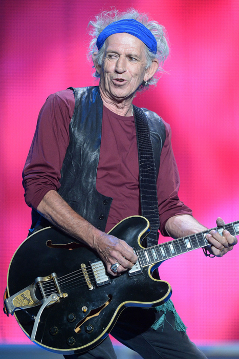 Keith Richards' bespoke Saint Laurent tour wardrobe will soon be available to buy, both online and in stores worldwide. | Fashion & more... | Scoop.it