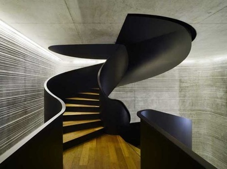 Up We Go: 10 Amazing Sets of Stairs | Designing Interiors | Scoop.it