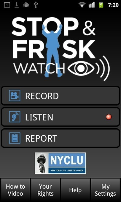 """NYCLU Releases """"Stop and Frisk Watch"""" Phone App to Fight Back Against NYPD Stops 