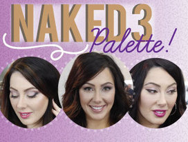 3 Looks Using the Naked 3 Palette | Makeup Zone | Scoop.it