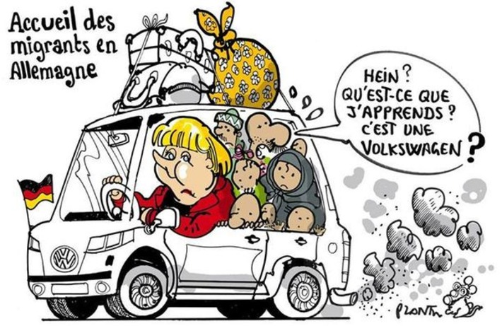 L'Allemagne accueille les migrants | Baie d'humour | Scoop.it