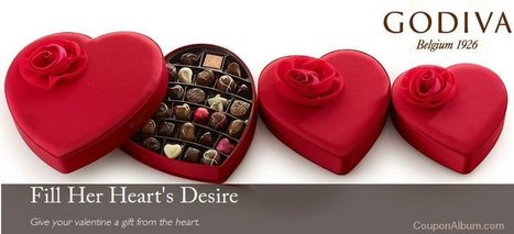 Godiva Chocolates Valentine's Day Gifts! | Coupons & Deals | Scoop.it