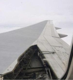 Un B757 de Delta con 185 personas a bordo perdió parte de un ala en pleno vuelo   Flying Today   Flying Today   Scoop.it