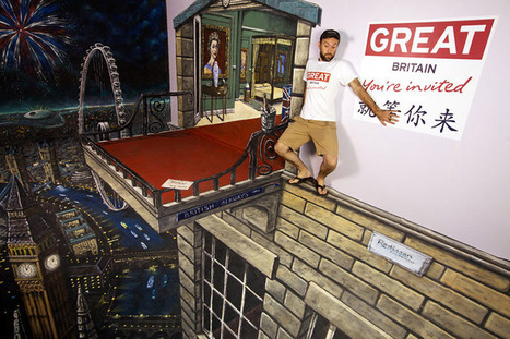 Amazing and Realistic Examples of 3D Street Painting | Machinimania | Scoop.it