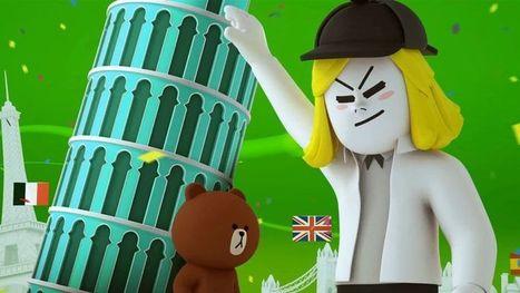 Le phénomène japonais Line débarque en France | Online Marketing | Scoop.it