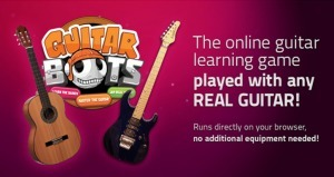 Guitarbots: Gamified guitar learning launched by Ovelin | Educational Apps & Tools | Scoop.it