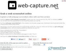 Web-capture.net : un outil en ligne pour faire des captures d'écran de pages web entières dans différents formats   my settings   Scoop.it