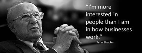 Peter Drucker's 9 Functions of a Mentor | Philosophies of life and education | Scoop.it