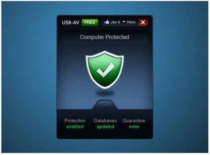 Protéger une clé USB d'un virus : USB-AV Antivirus Free   Sitios y herramientas de interés general   Scoop.it