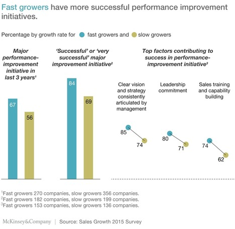The sales secrets of high-growth companies | McKinsey & Company | Innovating in an Age of Personalization | Scoop.it