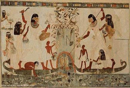 Ancient Egypt Painting, Minor Arts and Music | Class 9 Ancient Egypt Art | Scoop.it