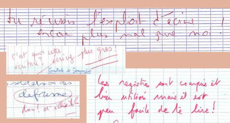 des séances de conseils pour bien enseigner l'écriture :: Association 5E | Les troubles de l'écriture | Scoop.it