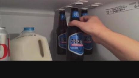 Organize your fridge with the 'bottleLoft' - kgw.com   starke Neodym Magnete im Magnetshop günstig kaufen ?   Scoop.it