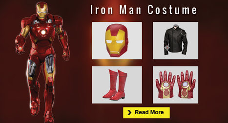 The Best DIY Iron Man Costume Guide | celebrities Leather Jackets | Scoop.it