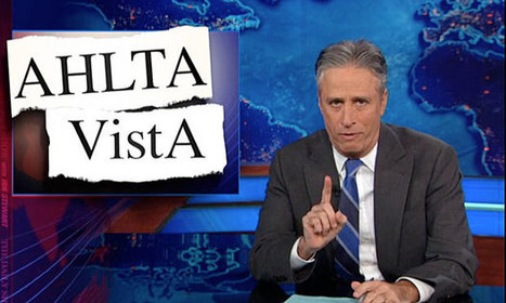 Jon Stewart Weighs in on Defense-VA E-Health Record Standoff | Electronic Healthcare | Scoop.it