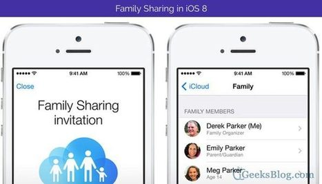 Setup Family Sharing in iPhone/iPad on iOS 8 [How-to] | K-12 Mobile Learning | Scoop.it