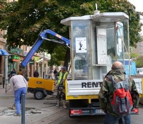 Les cabines téléphoniques vivent leurs derniers mois | Urbanisme & Commerce | Scoop.it