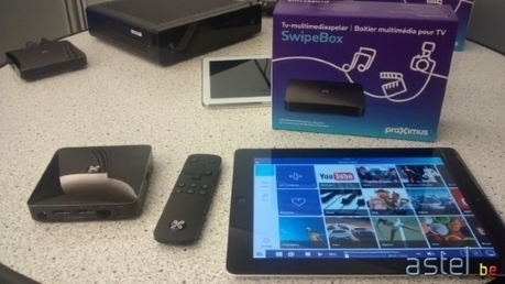 Présentation de la nouvelle interface Proximus TV + SwipeBox   TV & TV Distribution   Scoop.it