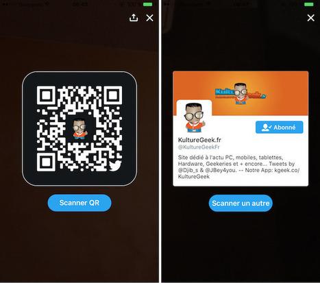 Twitter propose de créer des QR Codes pour partager facilement son compte | * LE MIAM MIAM BLOG * et les réseaux sociaux | Scoop.it