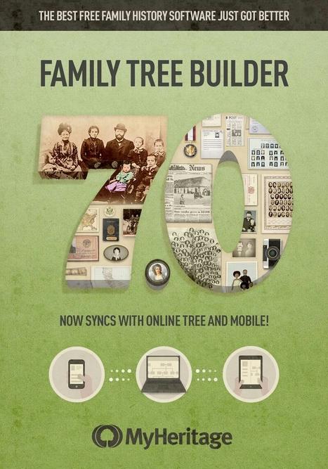 MyHeritage sort Family Tree Builder 7.0 et inscrit le logiciel de généalogie dans l'ère du nuage - BFM Business | Rhit Genealogie | Scoop.it